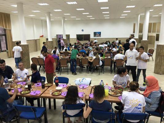 أمانينا تنظم سهرة رمضانية ومأدبة إفطار