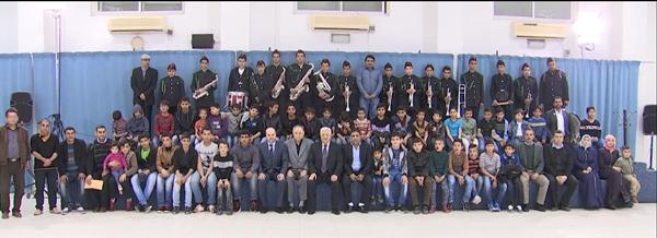 فخامة الرئيس محمود عباس يستقبل الطلاب الأيتام من المؤسسة