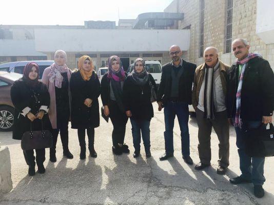 زيارة وفد من جمعية المرأة للتنمية والتمكين المؤسسة