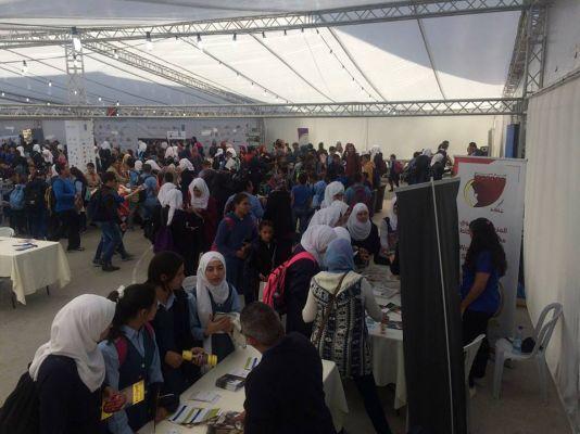 المشاركة بمهرجان المؤسسات الأهلية المقدسية