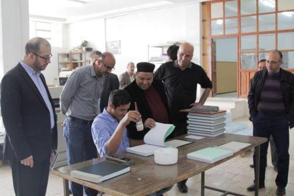 زيارة تفقدية لسماحة الشيخ يوسف ادعيس للمؤسسة