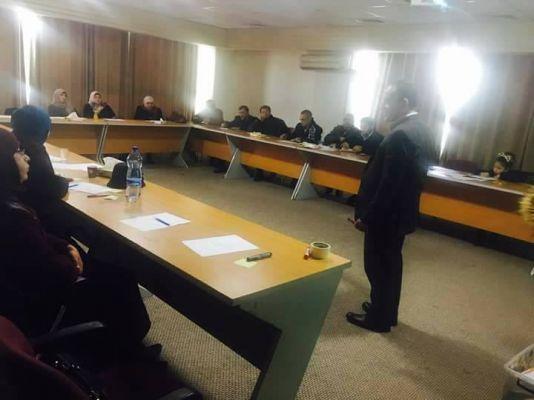 التحاق الهيئة التدريسية ببرنامح مدرستي فلسطين