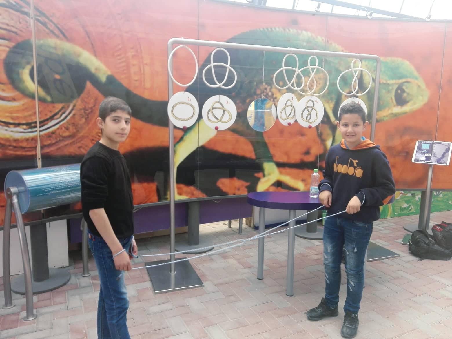 رحلة تعليمية لمتحف الرياضيات والعلوم في جامعة القدس